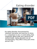 Eating and Sexual Disorder