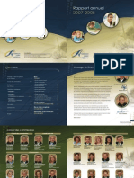 2007 2008 Rapport Annuel