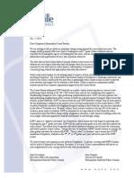 Letter sent to Kirkpatrick community