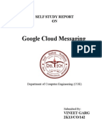 Google cloud messaging report