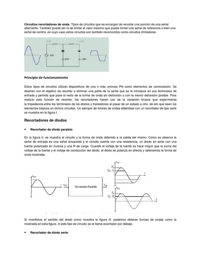 Circuito Onda : Circuitos rectificadores de onda completa