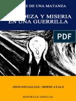 GRANDEZA Y MISERIA DE UNA GUERRILLA