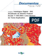 Mapa Pedologico Digital SIG Atualizado Do Distrito Federal Escala 1100.000 e Uma Sintese Do Texto Explicativo
