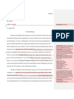 uwrt critical narrative assignment feedback