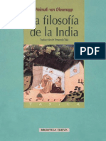La filosofía de la India - Helmuth von Glasenapp