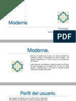 Oficina Modular Moderne.
