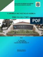 Laporan Kunjungan Kerja Ke Perum Jasa Tirta I, Malang Jawa Timur