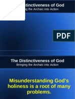 Distinctiveness of God