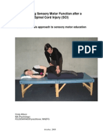 Spinal Cord Injuries and Feldenkrais