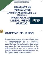 5. Prog Lineal y Metodo Grafico