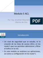 Modulo 5 ACL