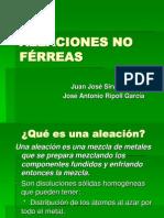 Aleaciones No Ferreasjuanjo Josea