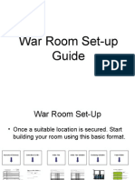 War Room Setup Guide