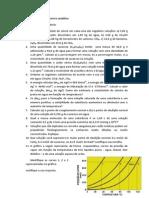 Lista de Exercícios de Química Analítica_propriedades Das Soluções