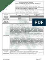 Diseño Curricular - Tecnólogo en Análisis y Desarrollo de Sistemas de Información