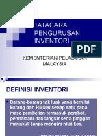 Tatacara Pengurusan Inventori