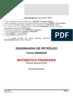 Lista de Exercicios_engenharia de Petróleo _ 1