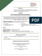 Resume Sudhakar