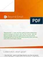 2014 11 10 Beyond Email by John Farr