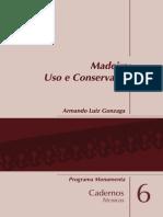 Caderno Madeira