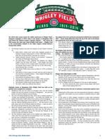 2014 Cubs Media Guide