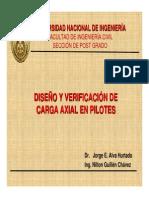 Verificacion Axial en Pilotes