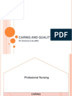 Caring and Quality Care