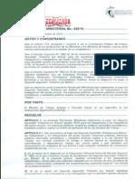 R.M. N 893 de 5 de diciembre de 2014 de pago de segundo aguinaldo 2014