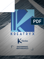 Engg Maths K-Notes