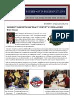 VFW Newsletter.dec2014 Jan2015.Revised