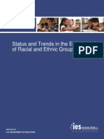 status and trends in the education of racial and ethnic groups - part 1