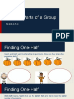 fractional parts of a group my slides