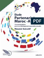 Institut Amadeus - Etude Maroc Afrique - Résumé Exécutif