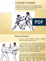 A Guide to the History of Karate