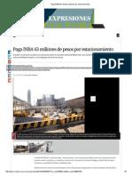 INBA - Garcia Cepeda - Presupuesto - Dispendio