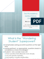 updated the wondering student powerpoint