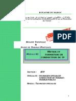 M01-Métier Et Formation en Conducteur de TP AC