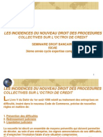 LES+INCIDENCES+DU+NOUVEAU+DROIT+DES+PROCEDURES+COLLECTIVES+2010