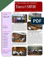 Times@SMVDU September 20141