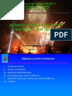 Residue Fluid Catalystic Cracking Unit (Rfccu)