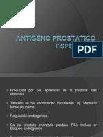 Antígeno prostático especifico