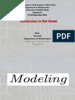 Introduction to Risk Model (Slide Pak Gunardi).pdf