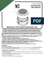 IHM60 Manual