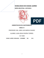 Administracion Del Mantenimiento Tarea IV-1