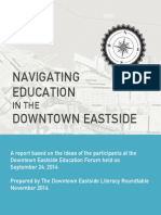 Navigating Education in the DTES