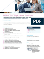Diploma of Business