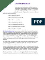 Concilios Ecuménicos