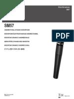 Shure - Sm57 User's Guide