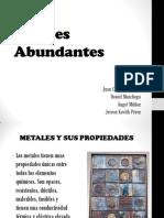 Metales Abundantes Ponencia