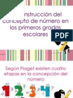 La construcción del concepto de número en los primeros grados escolares